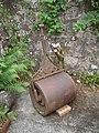 Lawn roller, Greenbank Garden (NTS) - geograph.org.uk - 1709397.jpg