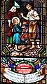 Le Bugue - Église Saint-Sulpice - Vitrail de saint Marcel de Paris -01.jpg