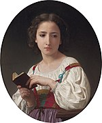 Le livre d'heures, by William-Adolphe Bouguereau.jpg