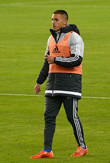 Leandro Barrera Argentine football forward