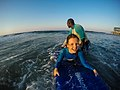 Learning to surf with Ocean Adventures, Durban beach front. KwaZulu Natal, South Africa (19892359713).jpg