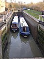 Leaving the lock - geograph.org.uk - 687848.jpg