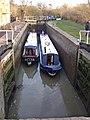Leaving the lock - geograph.org.uk - 687848.jpg