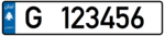 Lebanon - License Plate - Private Jounieh - EU Size.png