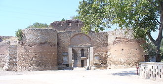 Nicaea - The Lefke Gate, part of Nicaea's city walls.