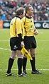 Leicester Tigers vs Bath referees.jpg