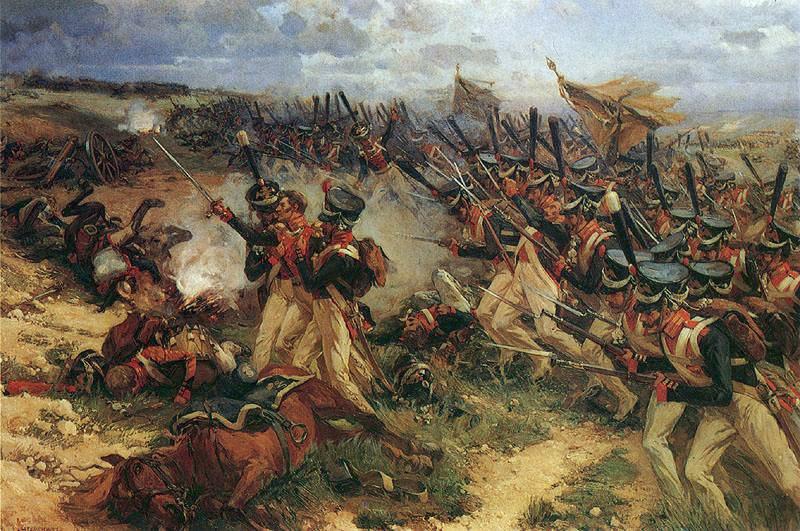 Lejb Guard Litov attack at Borodino