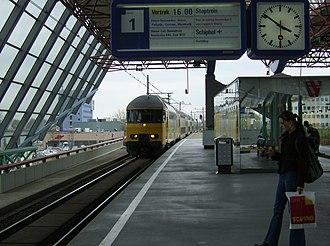 Lelystad Centrum railway station - Image: Lelystad Centrum 2
