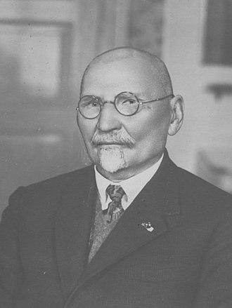 Leon Wyczółkowski - Leon Wyczółkowski in 1929