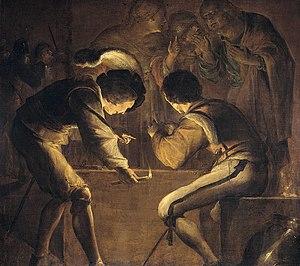 Leonaert Bramer - Denial of St Peter, 1642, Rijksmuseum