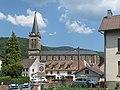Lepuix, église de la Nativité-de-Notre-Dame in straatzicht foto1 2013-07-22 11.49.jpg