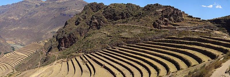 Fichier:Les terrasses de Pisac - Aout 2007.jpg