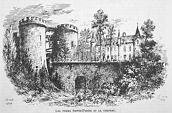 Les tours sainte parisse et le chateau Chancenay 00417.jpg