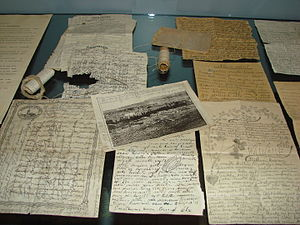 Prison literature - Letters and poetry written by Finnish prisoners at the Hämeenlinna prison.