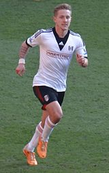 Lewis Holtby, Cardiff City vs Fulham 2014