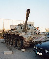 Czołg z Libanu