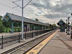 Liberty State Park station