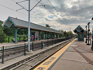 Liberty State Park station Light rail station in Jersey City, New Jersey, United States