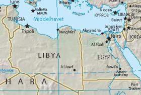 بريطانيا تسعى لوقف إطلاق النار 280px-Libya-Egypt.png
