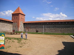 Лидский замок сегодня