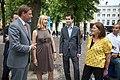 Liesbeth van Tongeren en Jesse Klaver, Lancering Europese Mobiliteitsweek 2010.jpg