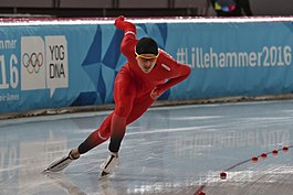 Lillehammer 2016 - Speed skating Men's 500m race 2 - Allan Dahl Johansson.jpg