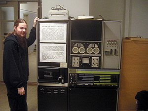 LINC-8 - LINC-8 on display at Uppsala University