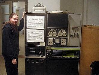 LINC-8 - LINC-8 on display at Uppsala University