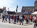 Linedance Katwijk aan Zee, wijkvereniging NNO, Andreasplein, 1 mei 2010.jpg