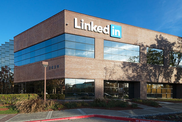 LinkedIn Headquarters in Mountain View, California