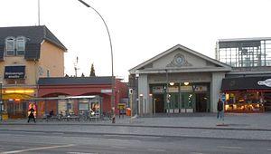 Berlin-Lichterfelde Ost station - South-eastern entrance