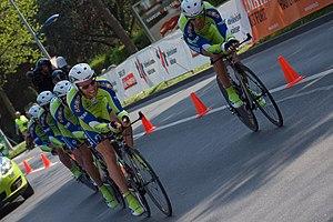 English: Tour de Romandie 2009 - 3rd stage - t...