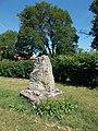Listed Memorial Stone, Béke-Barátság Park, 2017 Bicske.jpg