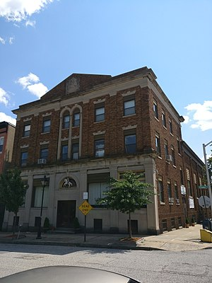 Lithuanian Hall (Baltimore, Maryland) - Image: Lithuanian Hall Baltimore 1