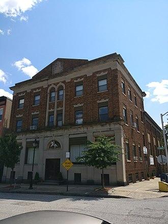 Lithuanian Hall (Baltimore, Maryland) - Image: Lithuanian Hall Baltimore 1