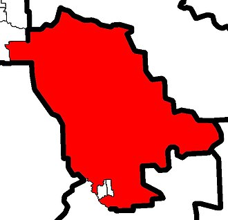 Little Bow - Image: Little Bow electoral district 2010