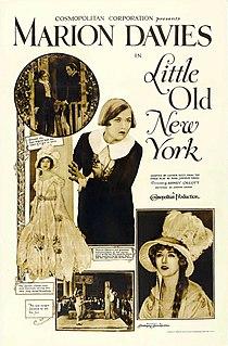 <i>Little Old New York</i> (1923 film) 1923 film by Sidney Olcott
