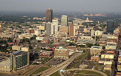 Panorama urbano de Little Rock