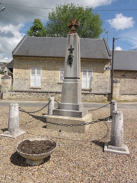 Lizy (Aisne) monument aux morts