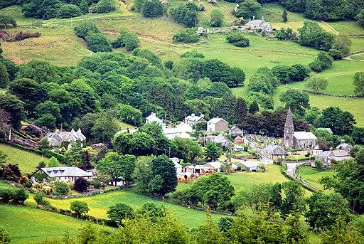 Llanfachreth from South