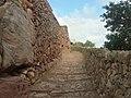 Llegada al Castillo por la calzada romana 20180702 184149 Richtone(HDR).jpg