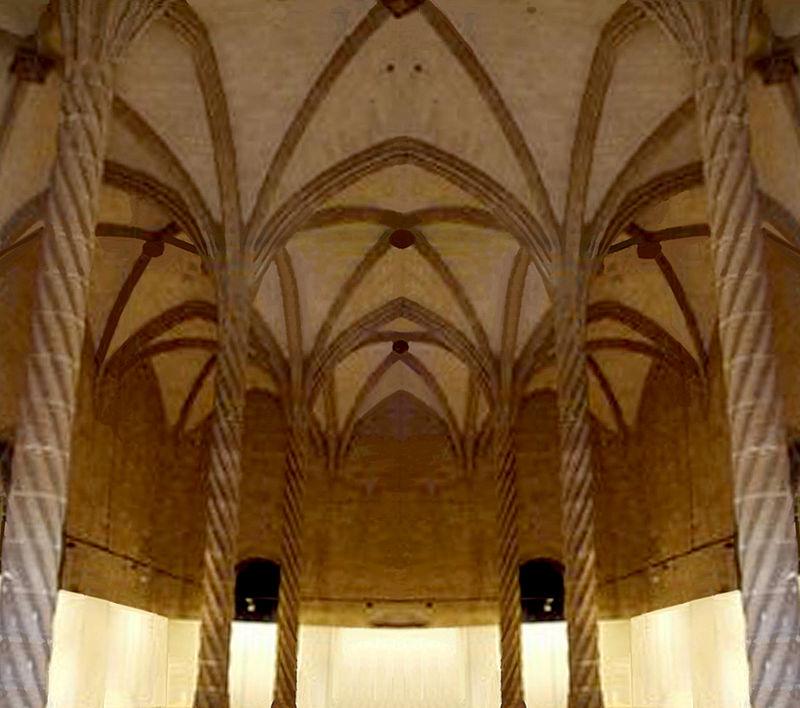 Qué ver qué hacer en Palma de Mallorca, Vista interior de La Lonja Palma de Mallorca