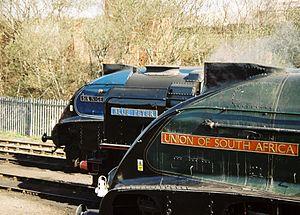 LNER Class A4 4498 Sir Nigel Gresley - Image: Lnerbarrowhill 1