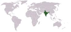 Intian sijainti