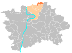 Location map municipal district Prague - Breziněves.PNG