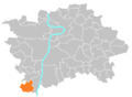 Location map municipal district Prague - Lipence.PNG