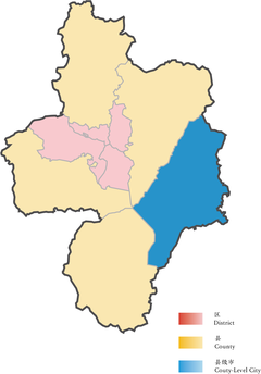 Location of Chaohu in Hefei.png