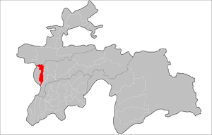 Location of Shahrinaw District in Tajikistan.png