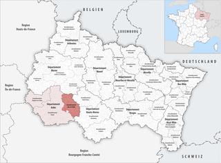 Arrondissement of Bar-sur-Aube Arrondissement in Grand Est, France