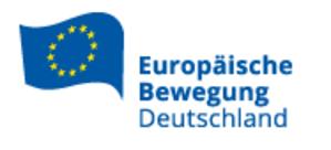European Movement Germany - Image: Logo EBD